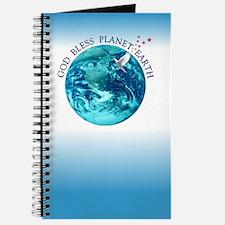 God Bless Planet Earth Journal