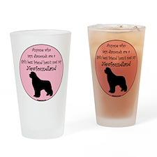 Girls Best Friend Pint Glass