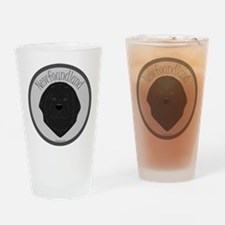 Sweet Newfie Face Pint Glass