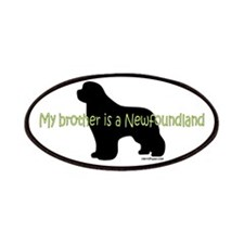 My Brother is a Newfoundland Patches