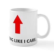 Acting Like I Care Small Mug