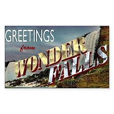 Greetings from Wonderfalls Decal