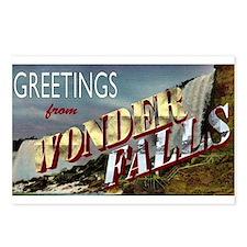Greetings from Wonderfalls Postcards (Package of 8