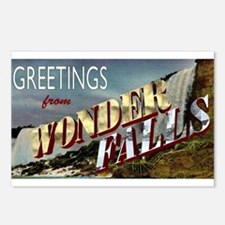 Greetings from Wonderfalls Postcards (Package of 8