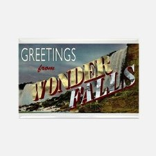 Greetings from Wonderfalls Rectangle Magnet