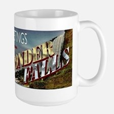 Greetings from Wonderfalls Large Mug