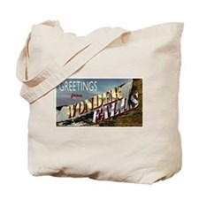 Greetings from Wonderfalls Tote Bag