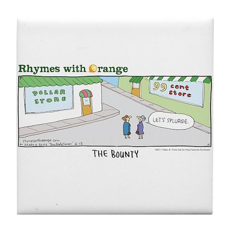 The Bounty Tile Coaster