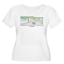 The Bounty Women's Plus Size Scoop Neck T-Shirt