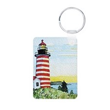 Quoddy Lighthouse Keychain