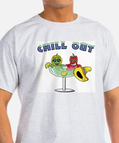 Chill Out Ash Grey T-Shirt