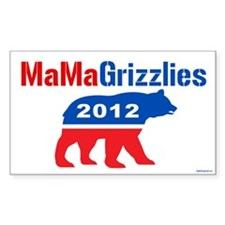 MaMa Grizzlies 2012 Decal