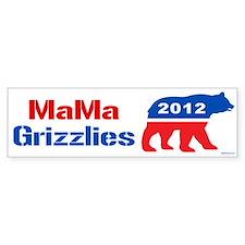 MaMa Grizzlies 2012 Bumper Sticker