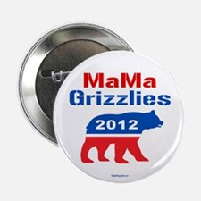 """MaMa Grizzlies 2012 2.25"""" Button (10 pack)"""