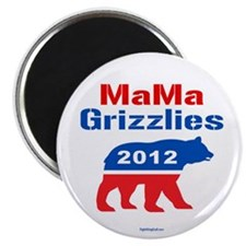 """MaMa Grizzlies 2012 2.25"""" Magnet (10 pack)"""