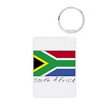 South Africa (Flag, World) Keychains