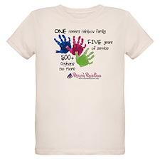 500+ Orphans No More Organic Kids T-Shirt