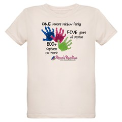 500+ Orphans No More Organic Kids T-Shirt