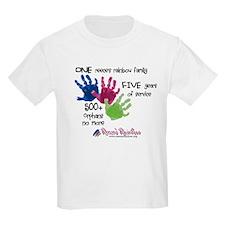 500+ Orphans No More Kids Light T-Shirt