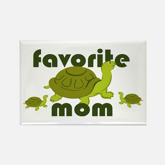 Favorite Mom Rectangle Magnet (100 pack)