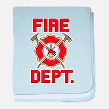 Fire Department - baby blanket