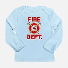 Fire Department - Long Sleeve Infant T-Shirt