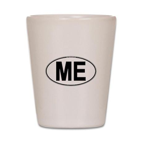 (ME) Euro Oval Shot Glass