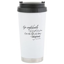 Henry David Thoreau Travel Mug