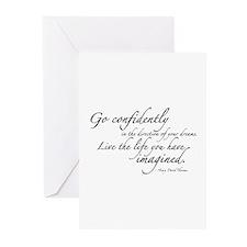 Henry David Thoreau Greeting Cards (Pk of 10)