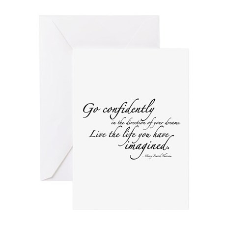 Henry David Thoreau Greeting Cards (Pk of 20)
