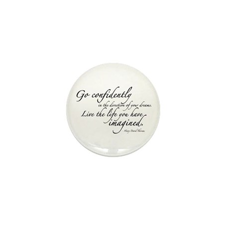 Henry David Thoreau Mini Button (100 pack)