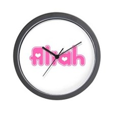 """Aliah"" Wall Clock"