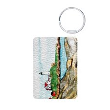 Nubble Lighthouse Keychain