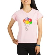 BALLOONS SAY PARTY TIME Women's double dry short s