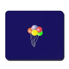 BALLOONS SAY PARTY TIME Mousepad