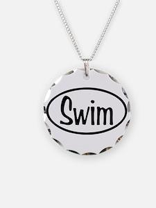 Swim Oval Necklace