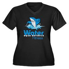 Tommy Mac Fitness Aqua Aerobi Women's Plus Size V-