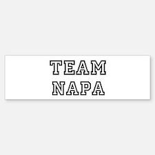 Team Napa Bumper Bumper Bumper Sticker