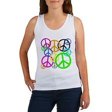 Peace Signs Women's Tank Top