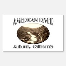 American River Decal