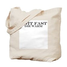 Knit Fast Tote Bag