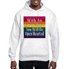 Open Mind Open Hearted Hoodie