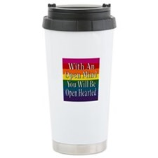 Open Mind Open Hearted Travel Mug