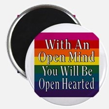 Open Mind Open Hearted Magnet