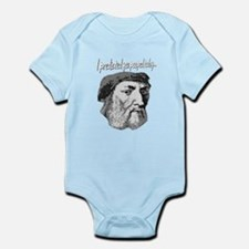 I PREDICTED YOU POOPED TODAY! Infant Bodysuit