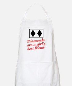 Diamonds: girl's best friend BBQ Apron
