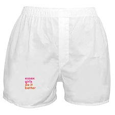 essex girls do it better (pin Boxer Shorts