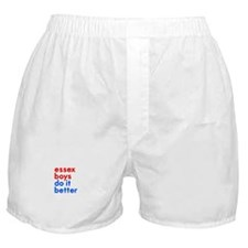 essex boys do it better (red/ Boxer Shorts