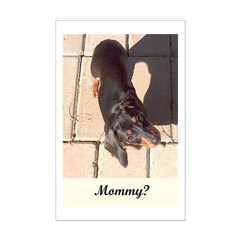 Mothers Day Dachshund Dogs Posters