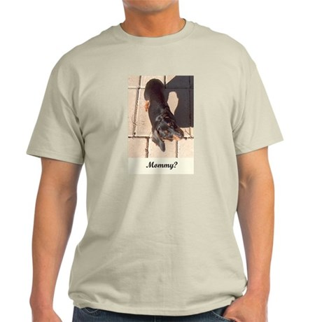 Mothers Day Dachshund Dogs Ash Grey T-Shirt